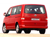 Volkswagen T5 Caravelle ZA-spec 2003–09 wallpapers