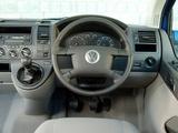 Volkswagen T5 Caravelle UK-spec 2003–09 wallpapers
