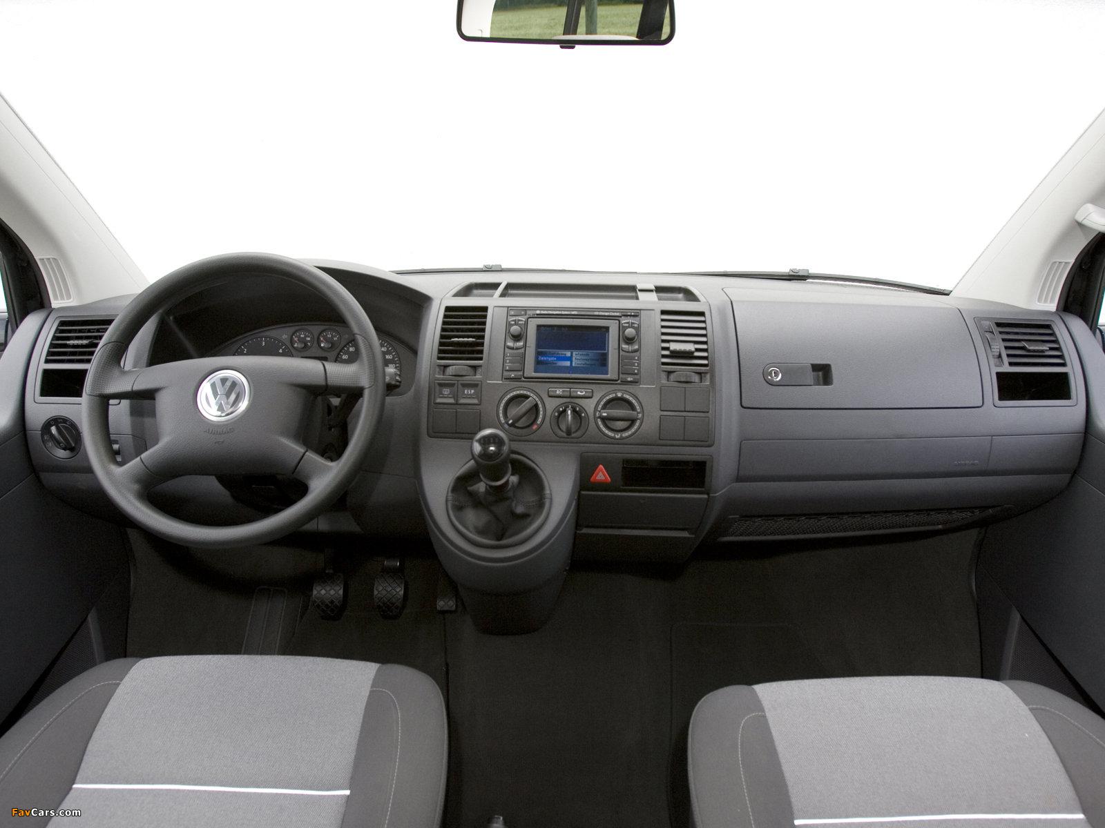 Volkswagen T5 Multivan Startline 2003–09 wallpapers (1600 x 1200)