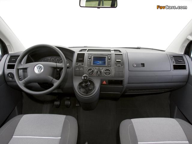 Volkswagen T5 Multivan Startline 2003–09 wallpapers (640 x 480)