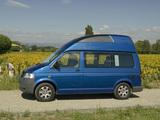 Volkswagen T5 California Trendline 2006–09 wallpapers