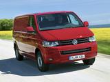Volkswagen T5 Transporter Van LWB 2009 wallpapers