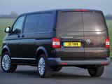 Volkswagen T5 Transporter Van UK-spec 2009 wallpapers