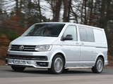 Pictures of Volkswagen Transporter Sportline UK-spec (T6) 2016