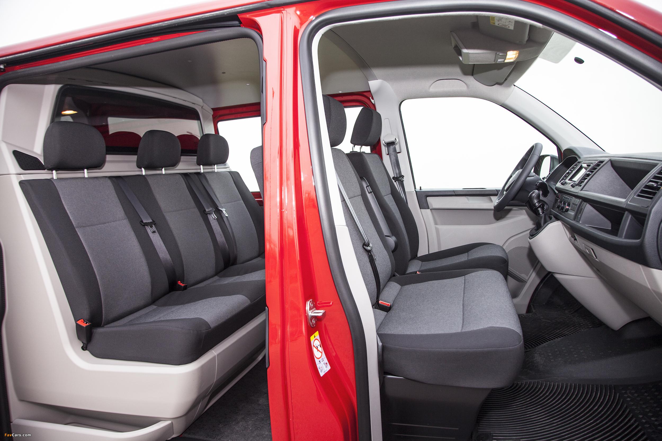 Volkswagen Transporter Mixto Plus (T6) 2015 images (2500 x 1667)