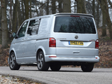 Volkswagen Transporter Sportline UK-spec (T6) 2016 images