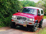 Volkswagen Taro 4WD Extended Cab 1994–97 photos