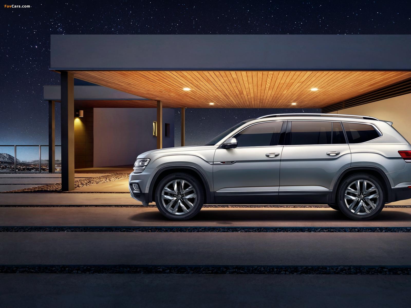 Volkswagen Teramont China 2017 wallpapers (1600 x 1200)