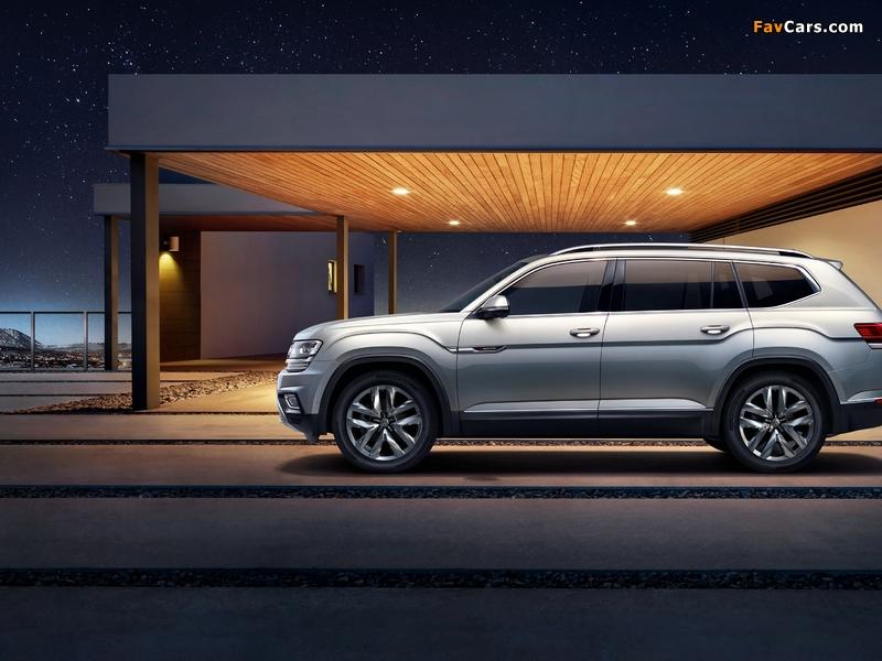 Volkswagen Teramont China 2017 wallpapers (800 x 600)