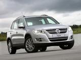Images of Volkswagen Tiguan 2008–11