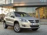Images of Volkswagen Tiguan UK-spec 2008–11
