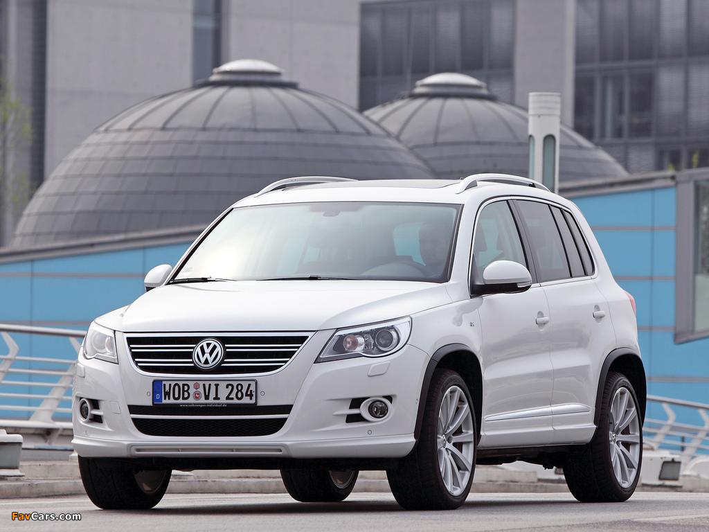 Images of Volkswagen Tiguan R-Line 2008–11 (1024 x 768)