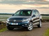 Images of Volkswagen Tiguan Track & Style UK-spec 2011