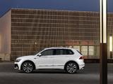 Images of Volkswagen Tiguan R-Line 2016