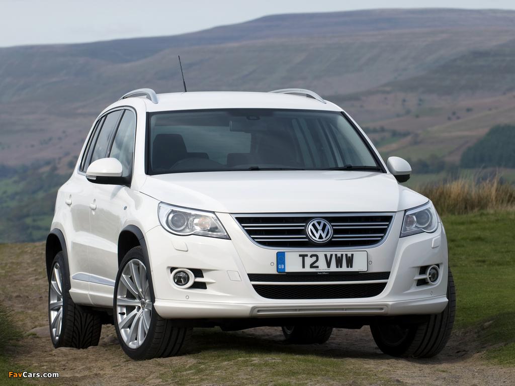 Photos of Volkswagen Tiguan R-Line UK-spec 2010–11 (1024 x 768)