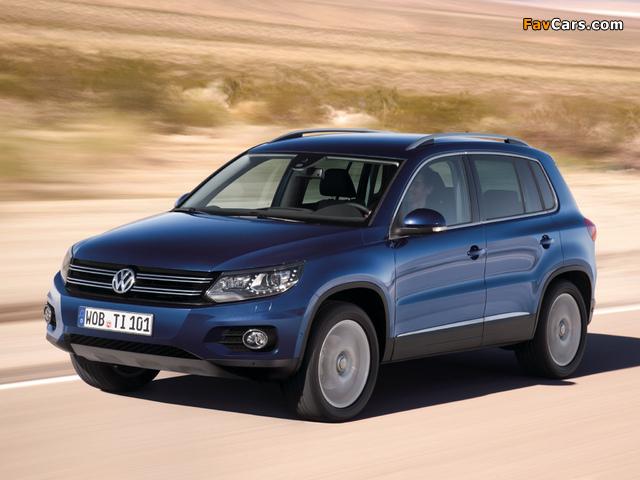 Photos of Volkswagen Tiguan Track & Style 2011 (640 x 480)