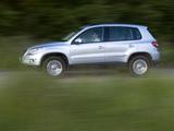 Pictures of Volkswagen Tiguan Track & Field 2008–11