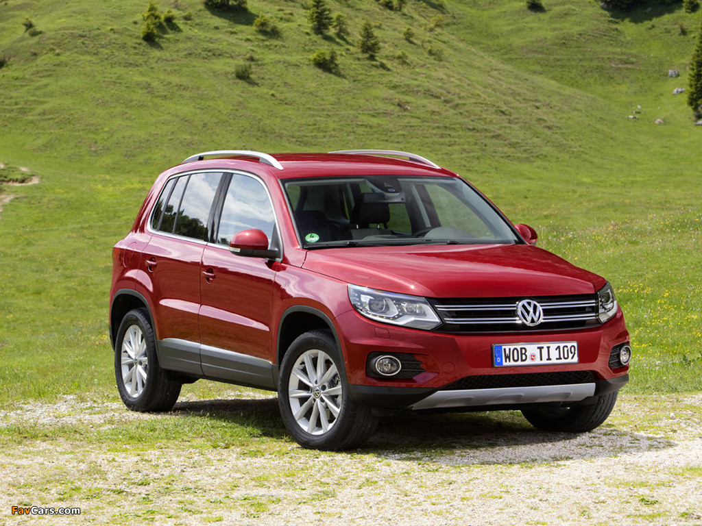 Pictures of Volkswagen Tiguan Track & Style 2011 (1024 x 768)