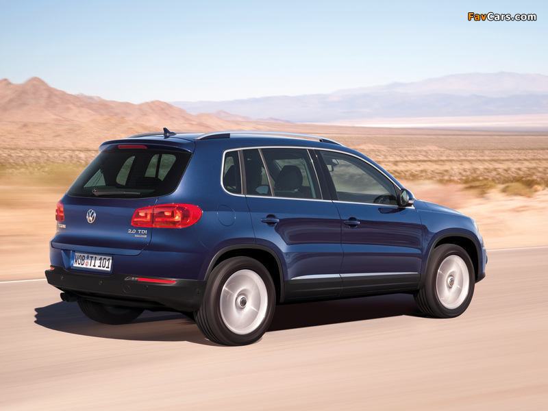 Pictures of Volkswagen Tiguan Track & Style 2011 (800 x 600)