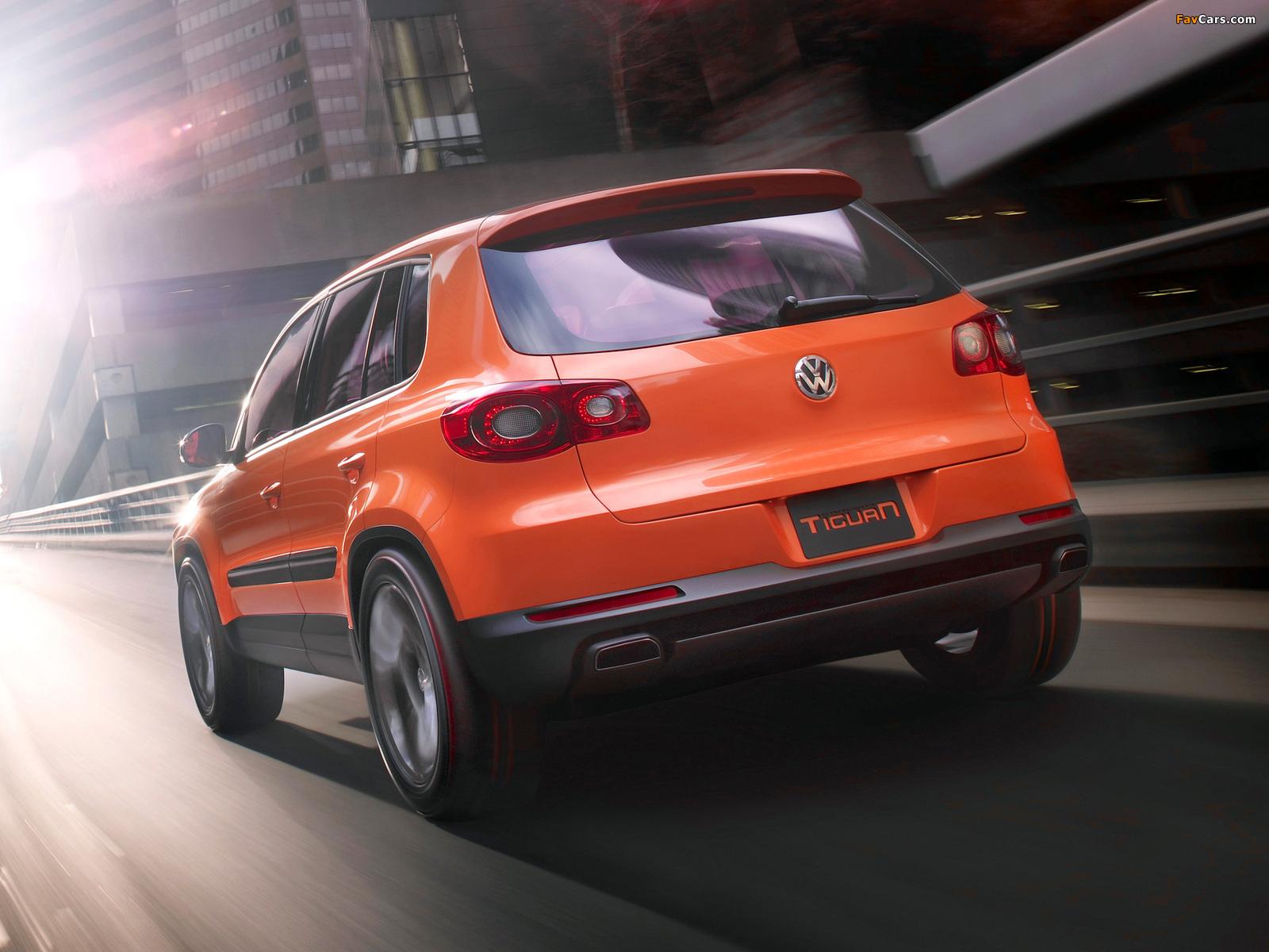 Volkswagen Tiguan Concept 2006 pictures (1600 x 1200)