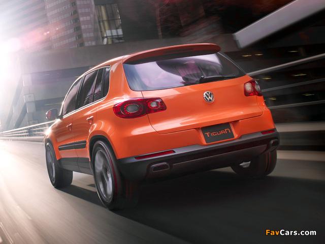 Volkswagen Tiguan Concept 2006 pictures (640 x 480)