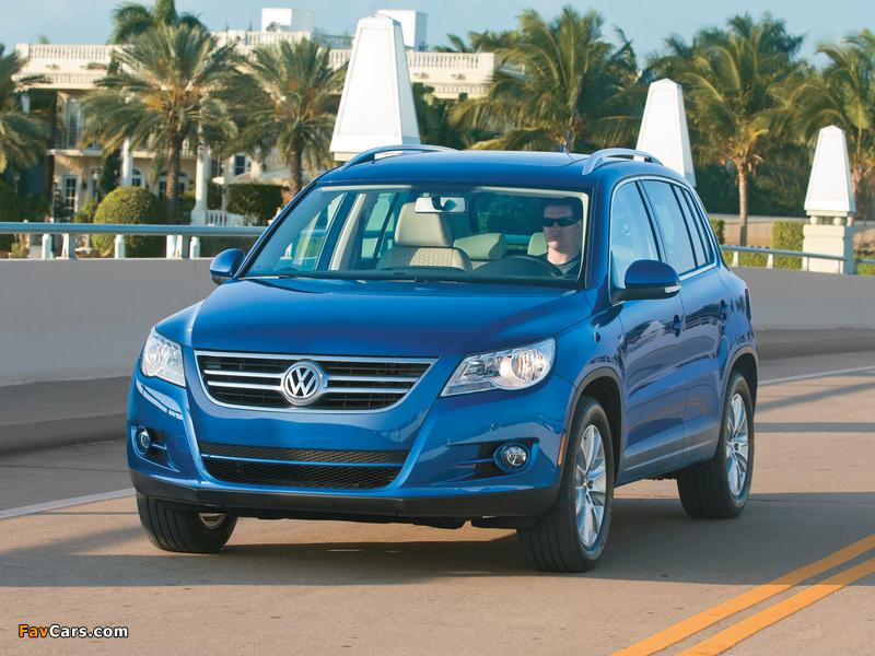 Volkswagen Tiguan US-spec 2008–11 images (800 x 600)