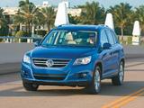 Volkswagen Tiguan US-spec 2008–11 images