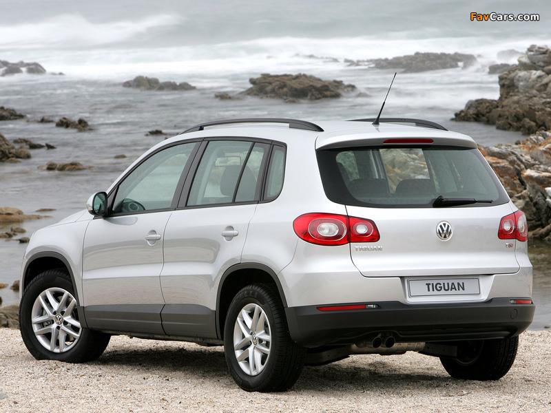 Volkswagen Tiguan ZA-spec 2008–11 images (800 x 600)