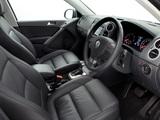 Volkswagen Tiguan Track & Field UK-spec 2008–11 images