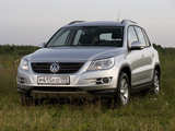Volkswagen Tiguan Track & Field 2008–11 wallpapers