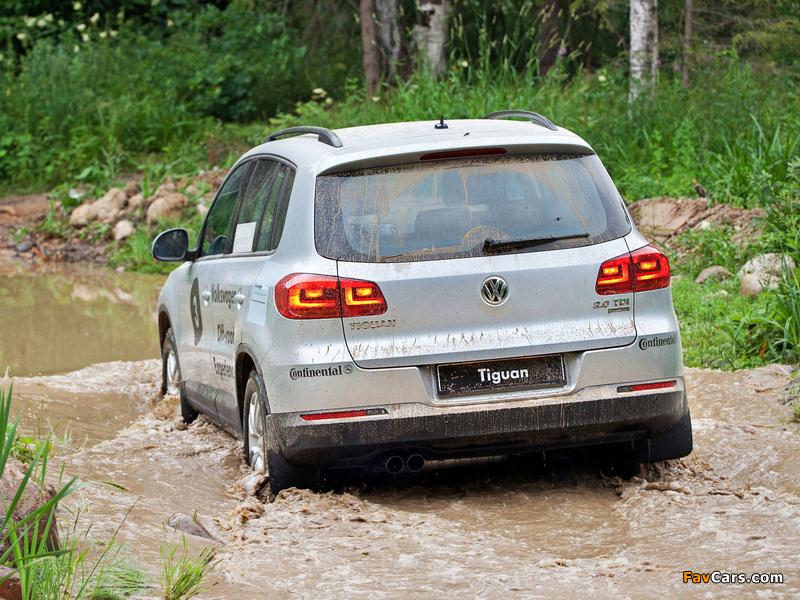 Volkswagen Tiguan Track & Style 2011 images (800 x 600)