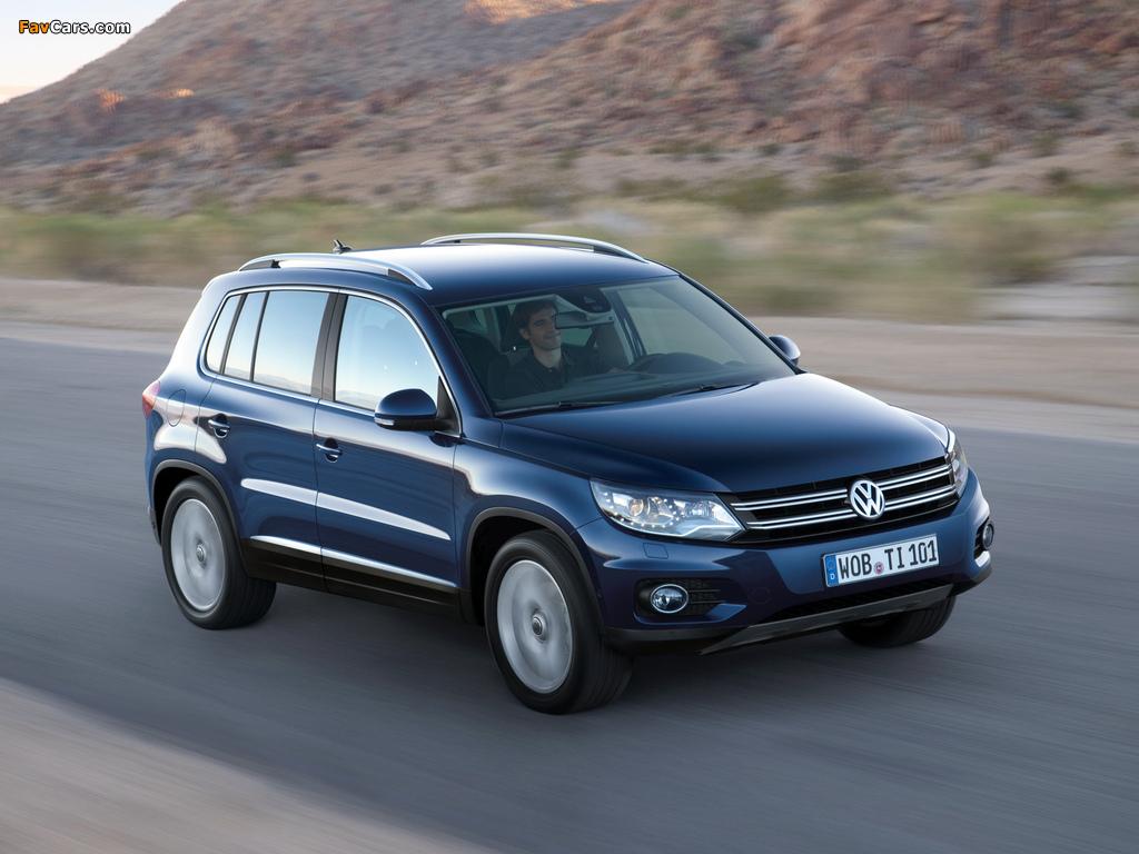 Volkswagen Tiguan Track & Style 2011 images (1024 x 768)
