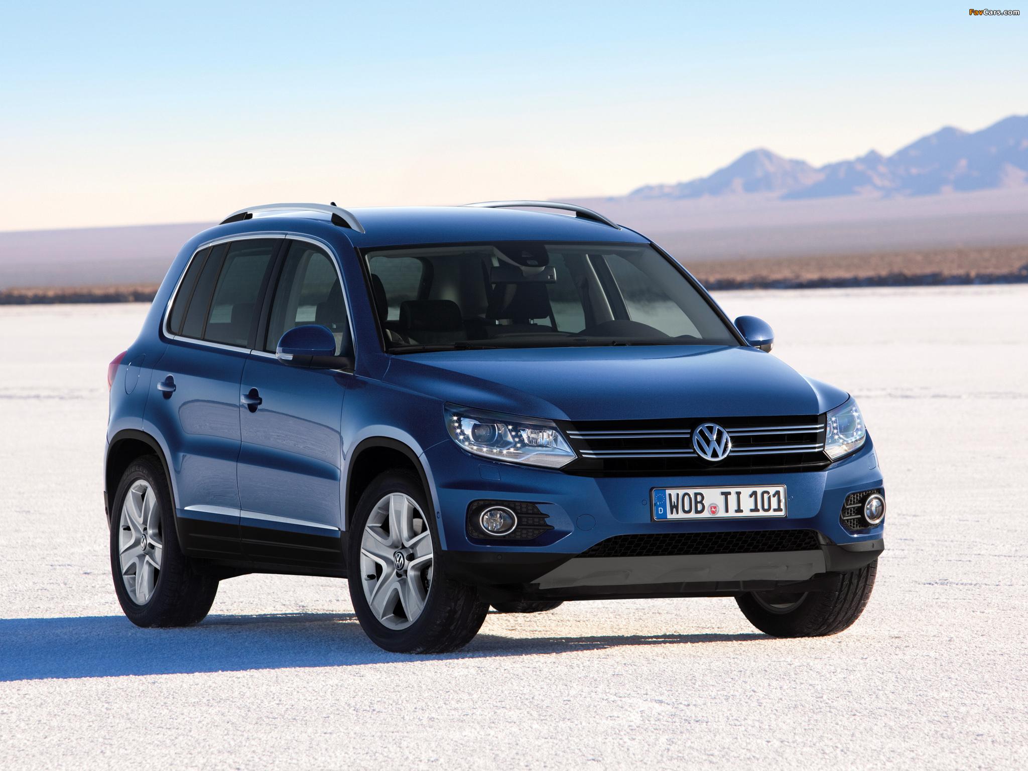 Volkswagen Tiguan Track & Style 2011 photos (2048 x 1536)