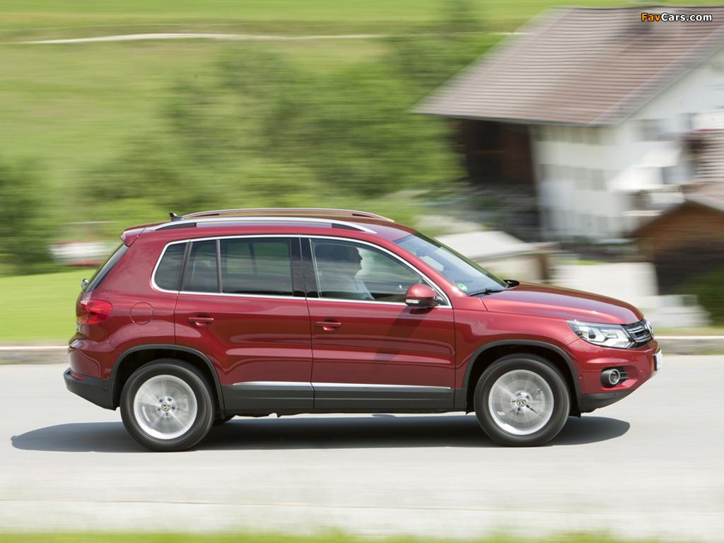 Volkswagen Tiguan Track & Style 2011 wallpapers (1024 x 768)