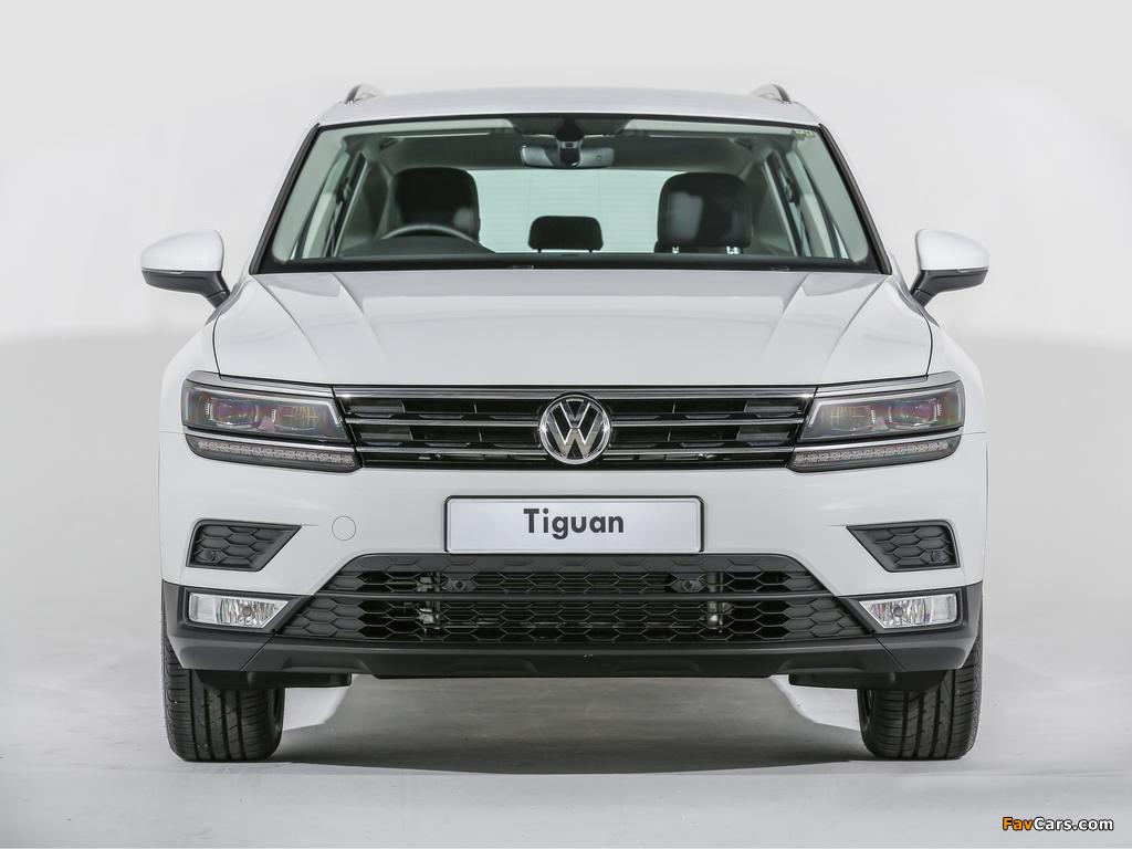 Volkswagen Tiguan MY-spec 2017 images (1024 x 768)