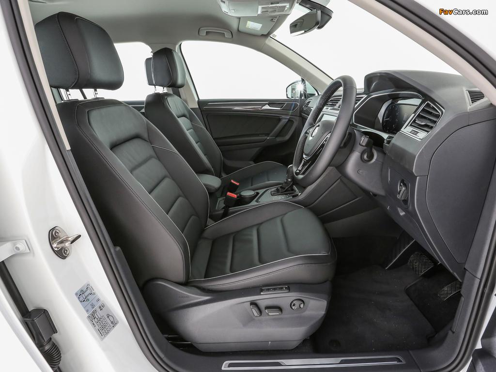 Volkswagen Tiguan MY-spec 2017 pictures (1024 x 768)