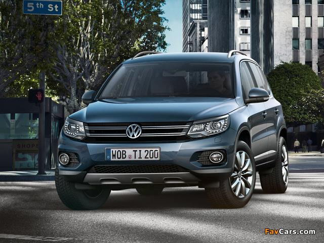 Volkswagen Tiguan Track & Style 2011 wallpapers (640 x 480)