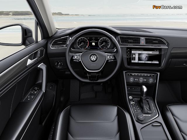 Volkswagen Tiguan Allspace 2017 wallpapers (640 x 480)