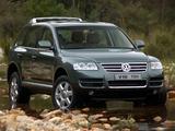 Photos of Volkswagen Touareg V10 TDI ZA-spec 2002–07