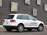 Photos of Volkswagen Touareg V6 TSI Hybrid Prototype 2009