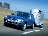 Pictures of Volkswagen Touareg V10 TDI 2002–07