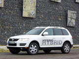 Pictures of Volkswagen Touareg V6 TSI Hybrid Prototype 2009