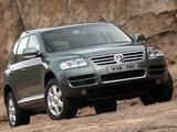 Volkswagen Touareg V10 TDI ZA-spec 2002–07 images