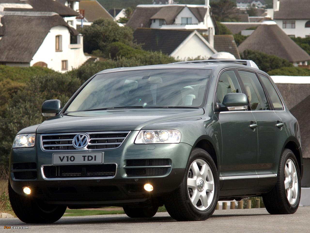 Volkswagen Touareg V10 Tdi Za Spec 2002 07 Images 1280x960