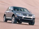 Volkswagen Touareg V10 TDI 2002–07 images