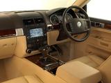 Volkswagen Touareg V10 TDI ZA-spec 2002–07 pictures