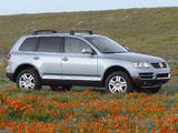 Volkswagen Touareg V8 US-spec 2002–07 pictures
