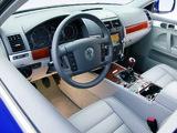 Volkswagen Touareg V6 TDI 2004–07 pictures