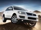 Volkswagen Touareg V8 US-spec 2007–09 wallpapers