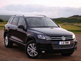 Volkswagen Touareg V6 TDI UK-spec 2010 images